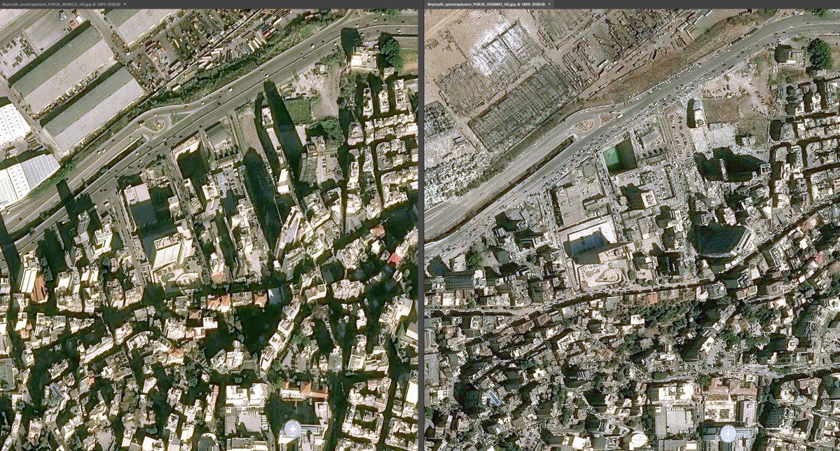 Вибух у Бейруті: наслідки зафіксував супутник (ФОТО)
