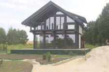 Дом на 95 м² по цене квартиры. На Львовщине военные открыли строительное дело