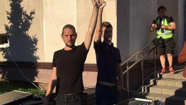 У Білорусі діджеїв заарештували за пісню Цоя на концерті в підтримку Лукашенка
