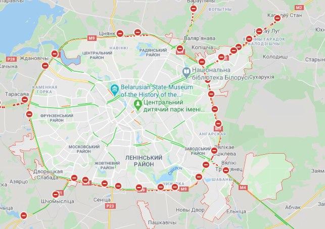 Вибори в Білорусі 2020: силовики почали затримувати людей у містах