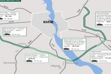 Розвантажить Кільцеву і з'єднає п'ять міжнародних трас: нова об'їзна довкола Києва