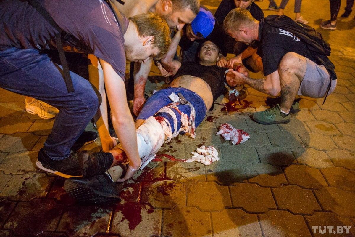 Протести у Білорусі: як пройшла третя ніч мітингів