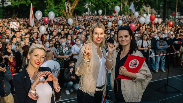 Протести у Білорусі 13 серпня 2020: ейфорія білорусів