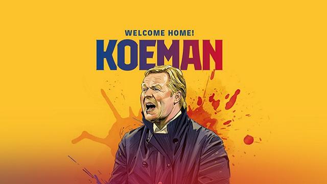 Рональд Куман став головним тренером Барселони