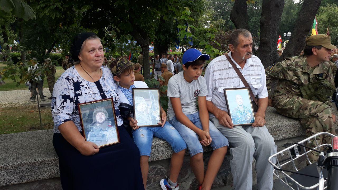 У Києві відбудеться ході ветеранів до Дня незалежності України
