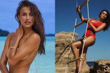 Топ-5 соблазнительных пляжных фото Ирины Шейк