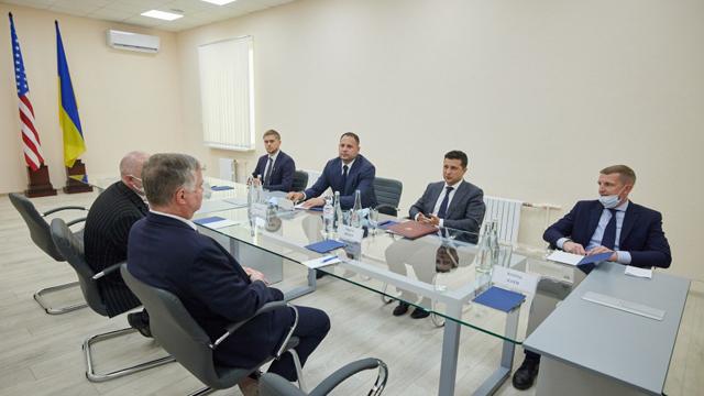 Білорусь і Донбас: Зеленський провів зустріч із заступником держсекретаря США