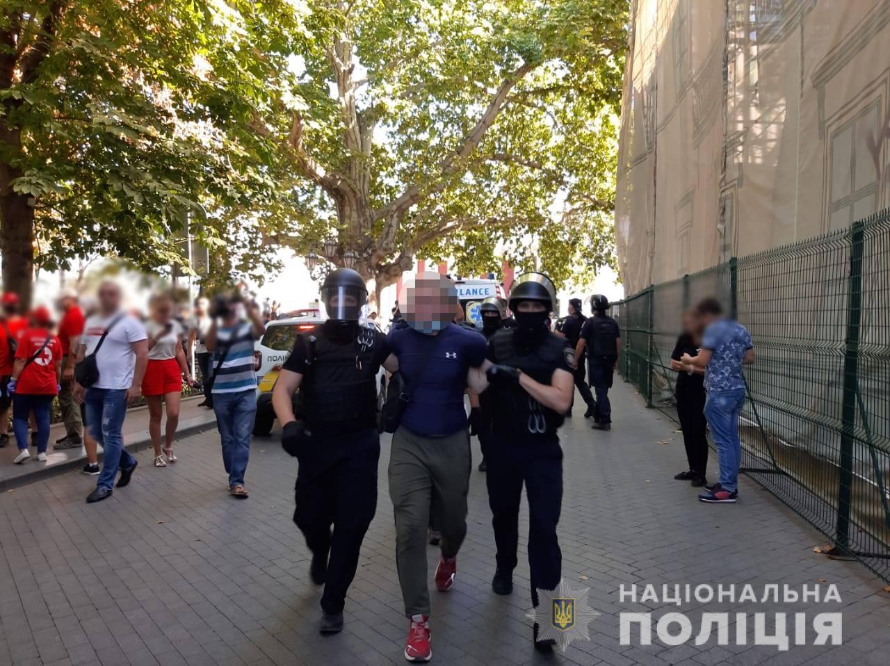 Марш рівності в Одесі: внаслідок сутичок з поліцією затримали 16 активістів