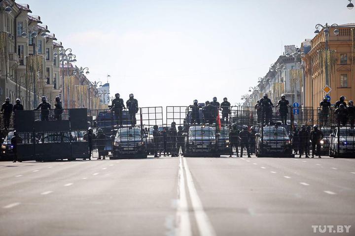 У Мінську на протестах почалися зіткнення – МВС Білорусі