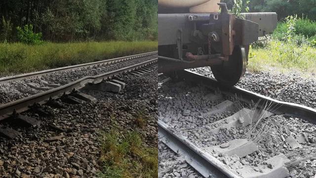 64 вагони з нафтопродуктами: на Житомирщині зловмисники планували підрив поїзда