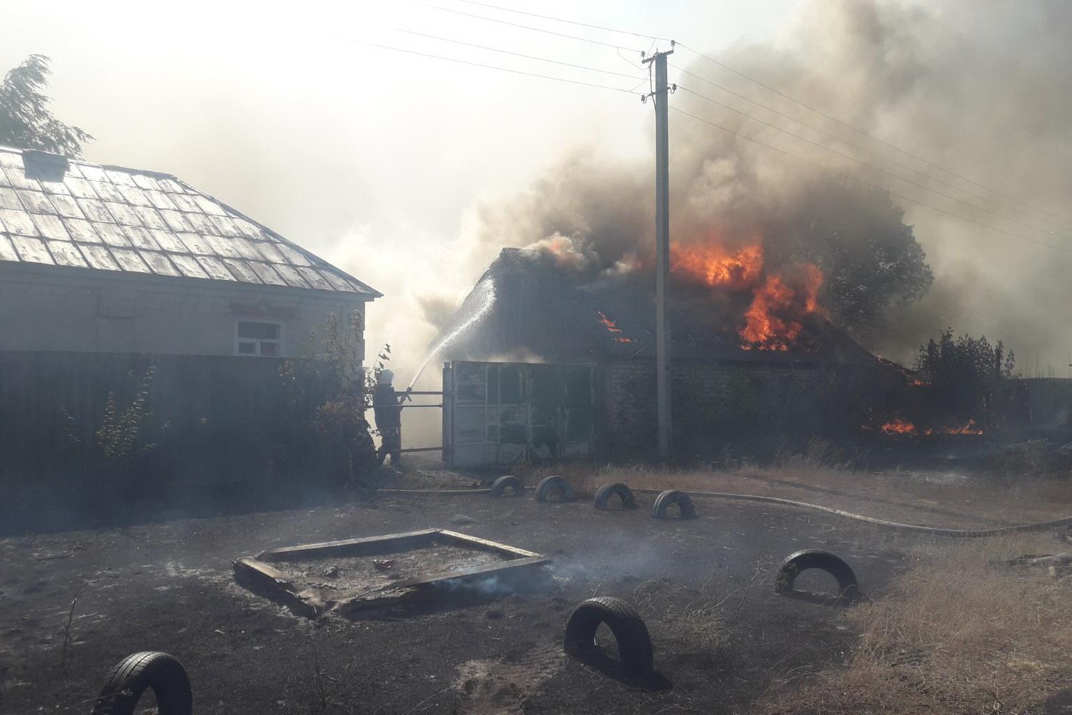 Пожежі у Харківській та Луганській областях: подробиці пожеж
