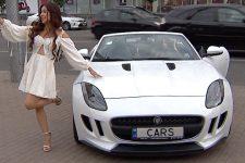 Mercedes-Benz, Mustang и Lamborghini. В Киеве устроили автопробег кабриолетов
