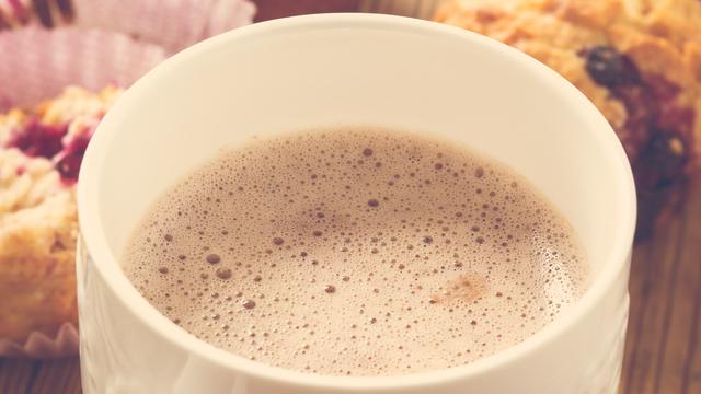 Какао з молоком