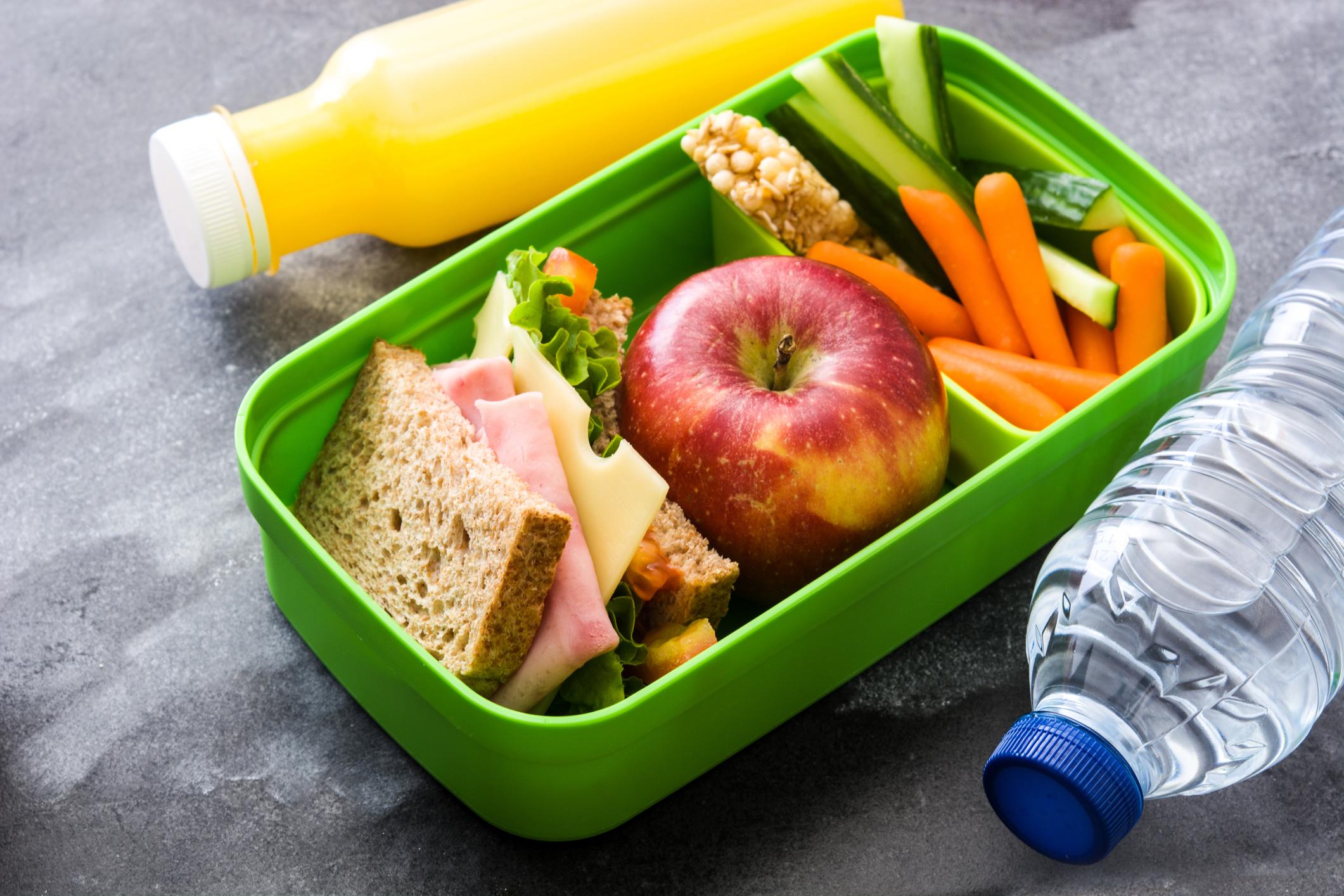 обід дитині в школу