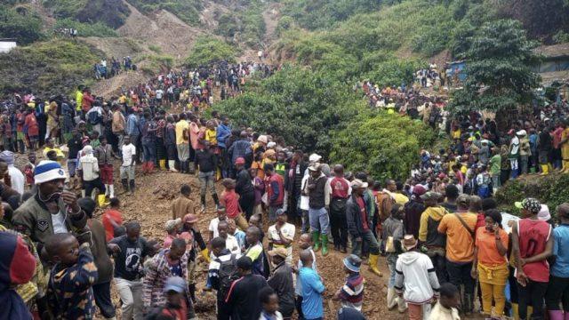 зсуви в Конго