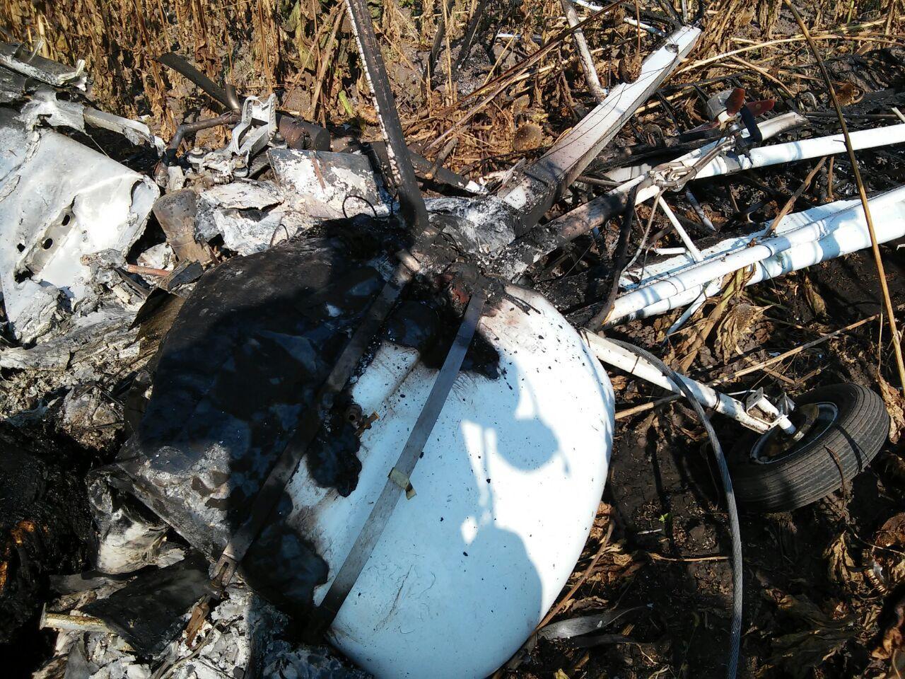 На Сумщині впав легкомоторний літак – пілот загинув