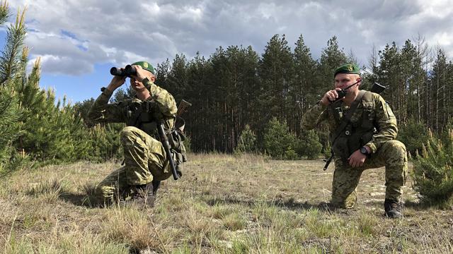 Україна посилила охорону на кордоні з Білоруссю