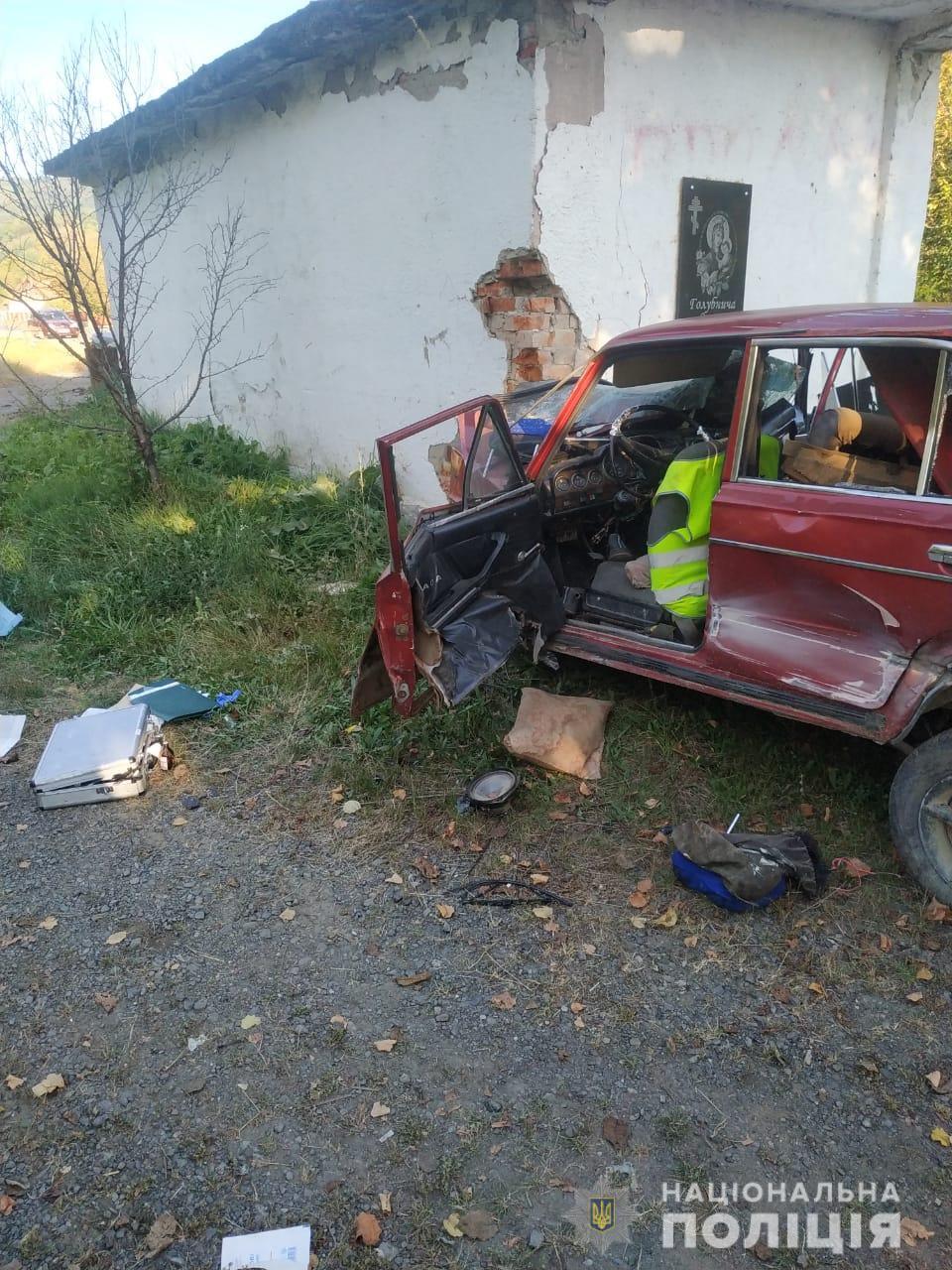 ДТП на Закарпатті: загинуло дві людини