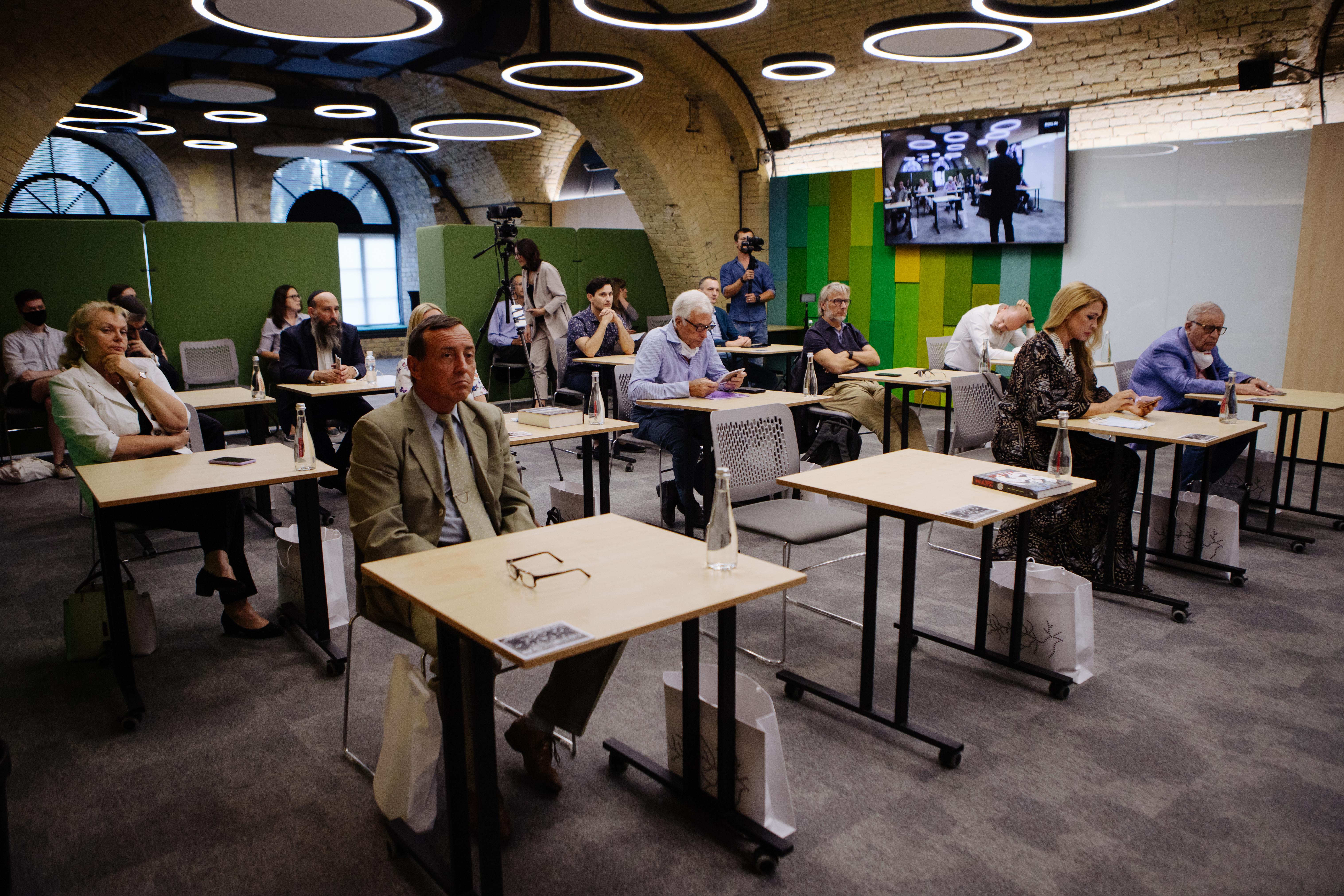 Відбулось перше засідання Громадської ради Меморіального центру Голокосту Бабин Яр