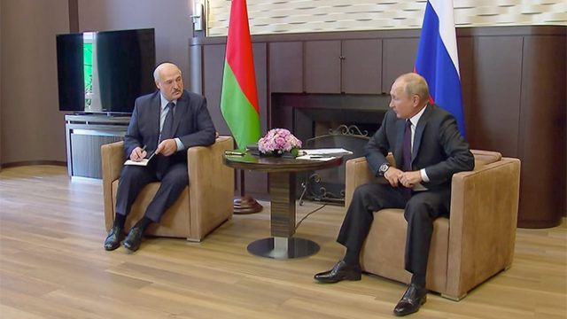 Кожен зі своєю метою. Для чого зустрічалися Путін і Лукашенко чого тепер чекати