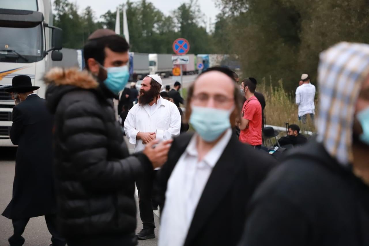 Хасиди намагаються прорватися до України з Білорусі – блокування ДПСУ триває