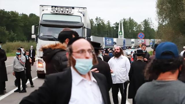 ДПСУ очікує на прибуття до кордону України ще майже 4 тис. хасидів