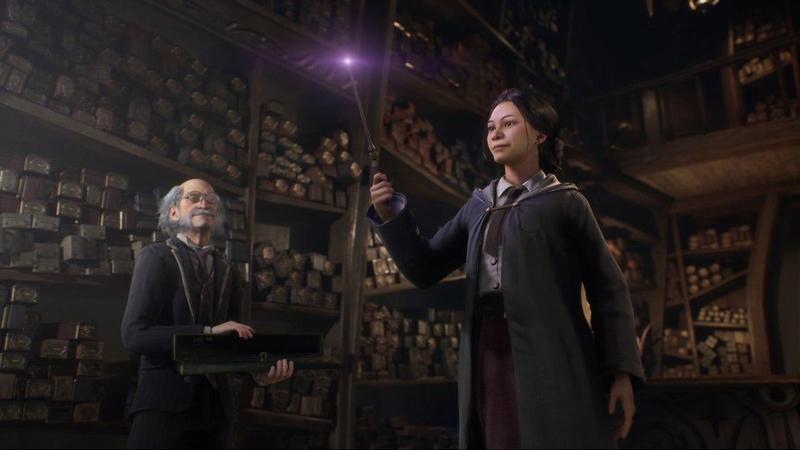 Нова гра про Гаррі Поттера: показано перші скріншоти Hogwarts Legacy