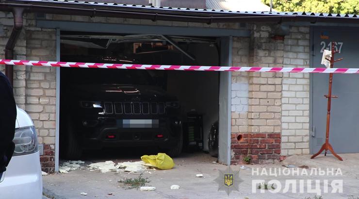 У Харкові чоловік підірвав себе у власному гаражі