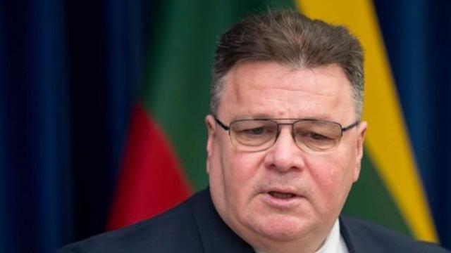 Голова МЗС Литви Лінас Лінкявічюс