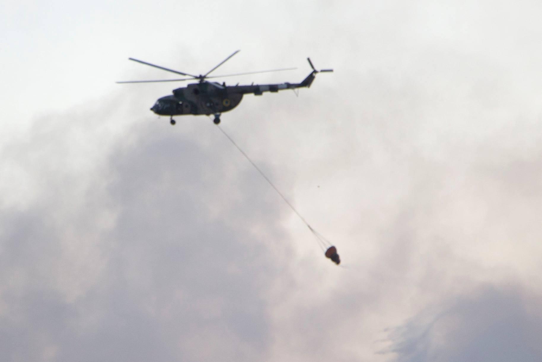 Пожежа на військовому полігоні на півдні України: подробиці пожежі