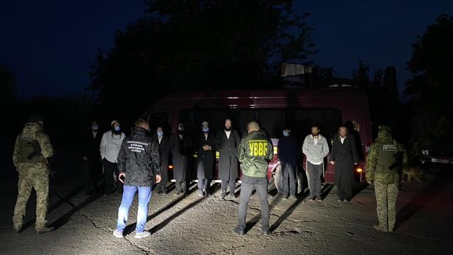 На кордоні з Молдовою затримали хасидів-нелегалів