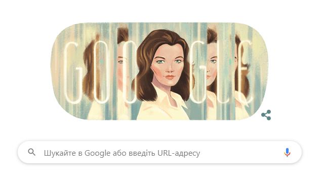 Ромі Шнайдер: дудл Google
