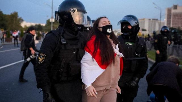 Протести у Білорусі 23 вересня – список затриманих