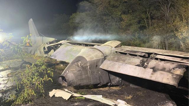 Ан-26: що відомо про літак, який розбився у Чугуєві на Харківщині