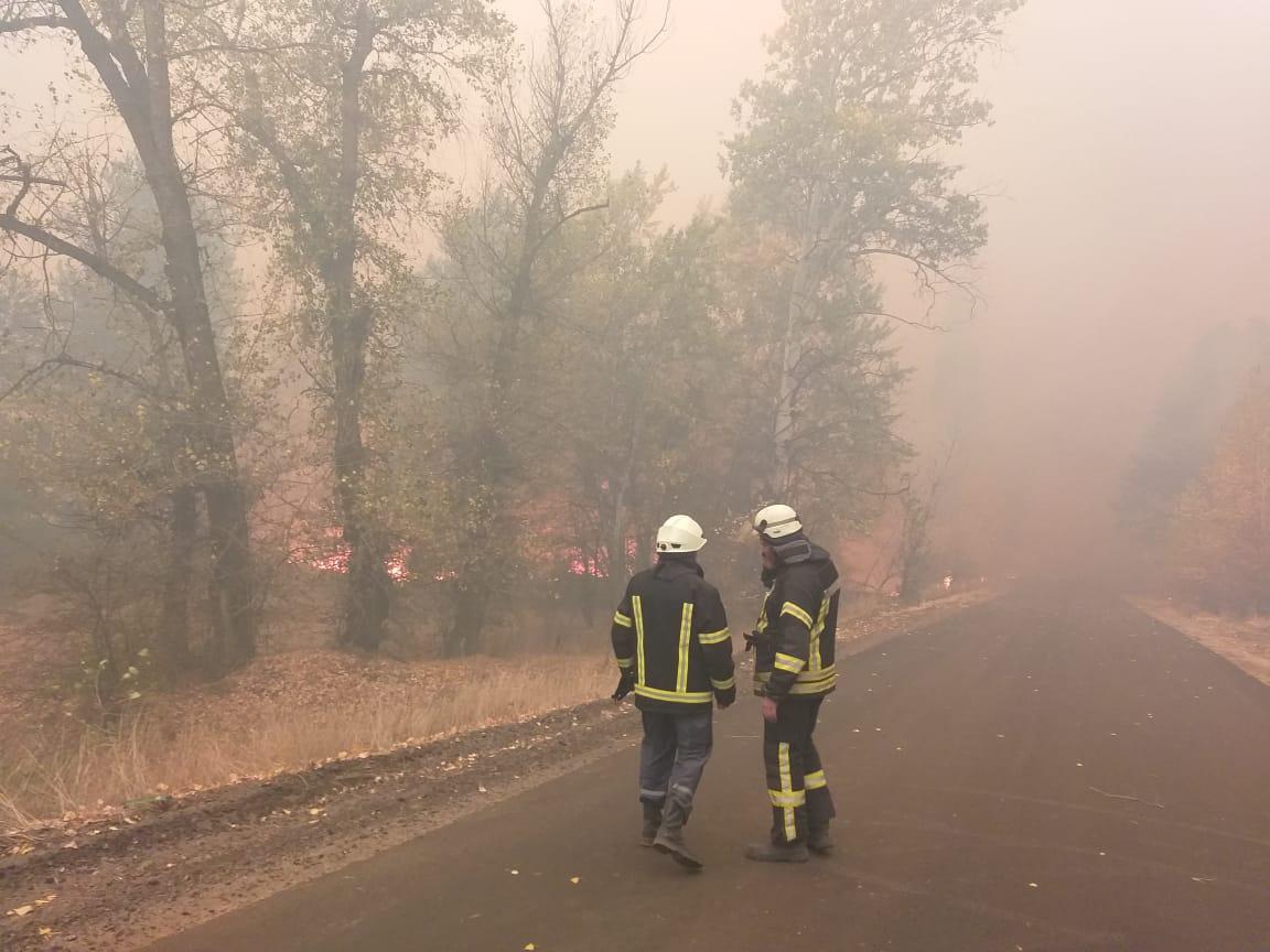 Пожежі у Луганській області: у вогні згоріли будинки