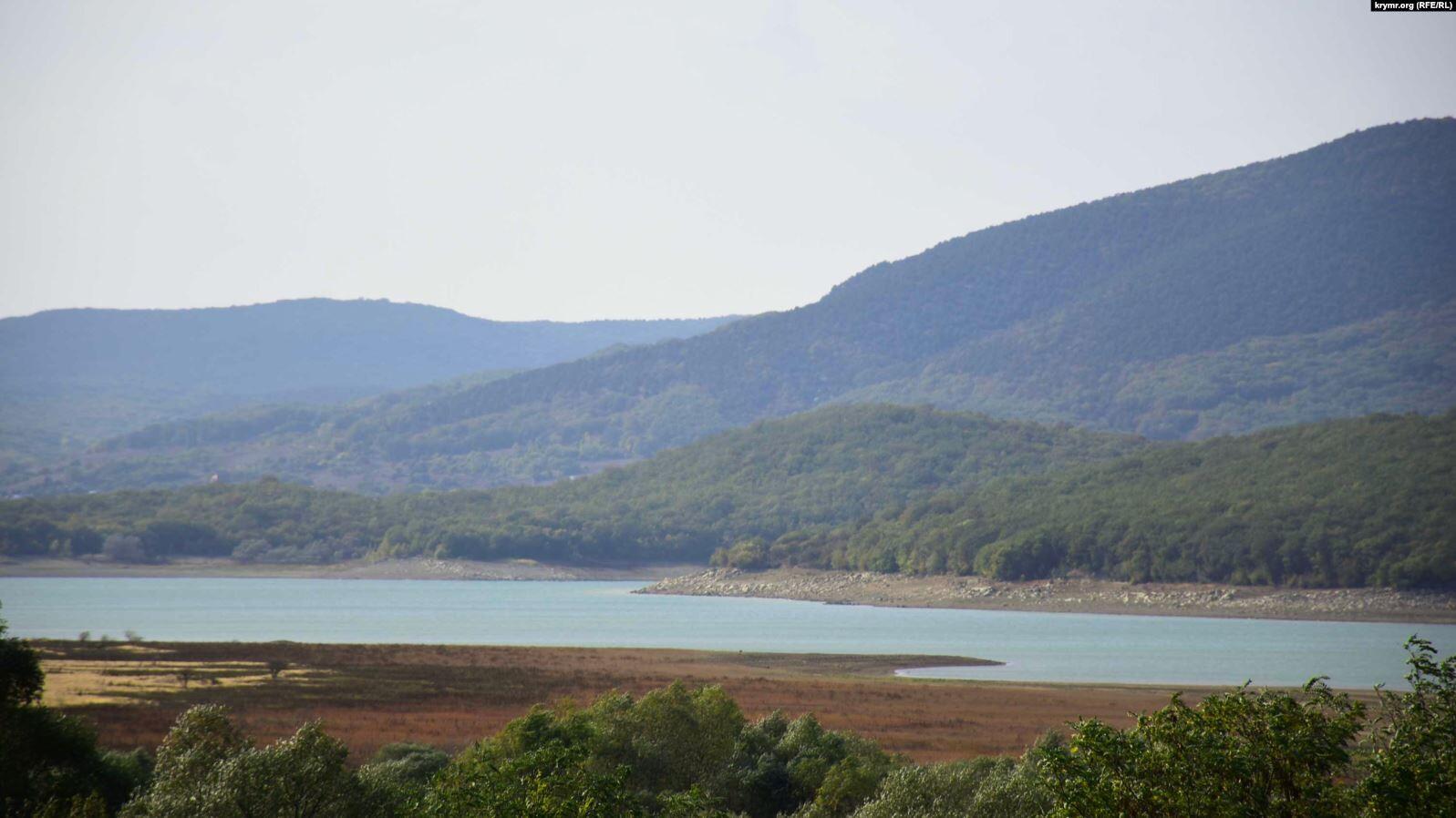 У Криму зняли обміліле водосховище – основне джерело води для Севастополя