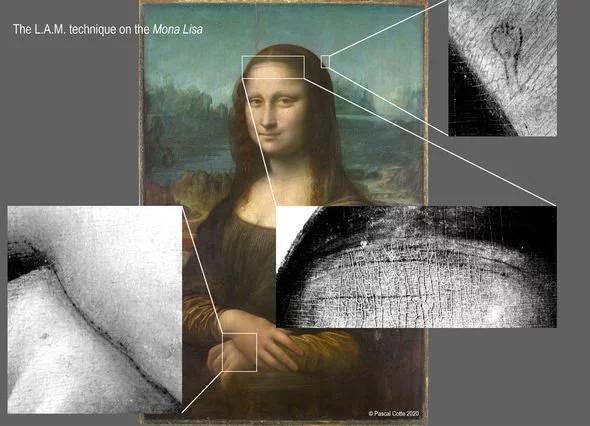Підсилює загадковість: під Моною Лізою виявили прихований малюнок