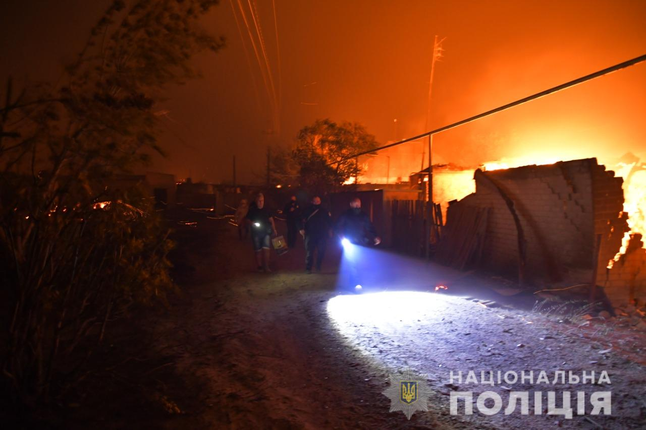 пожежі у Луганській області
