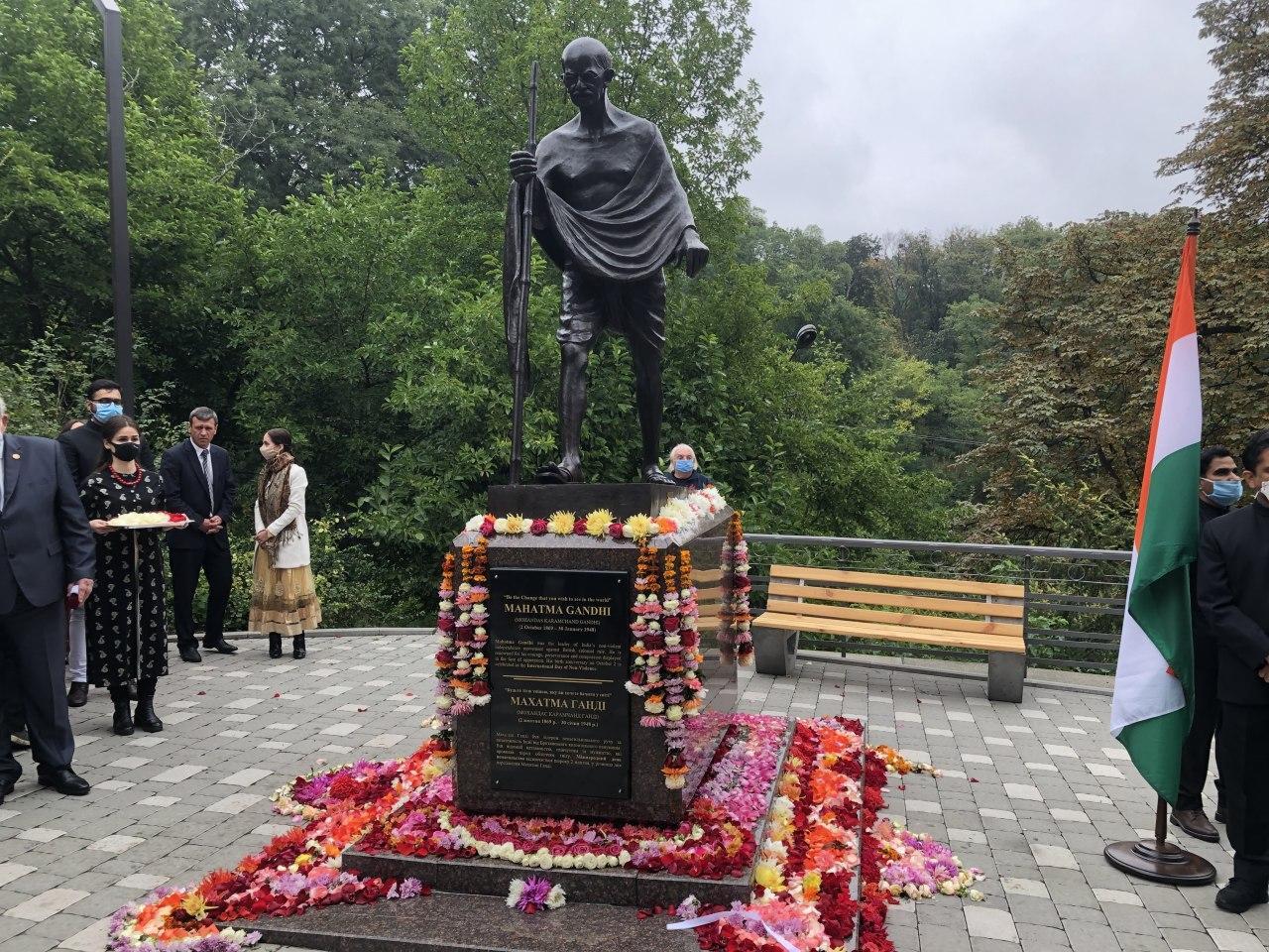 пам'ятник Махатмі Ганді