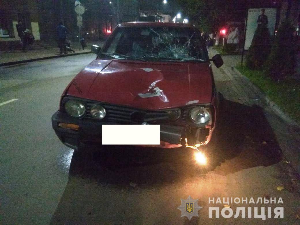 В Ровенской области пьяный водитель сбил пешеходов — есть погибший, трое пострадали