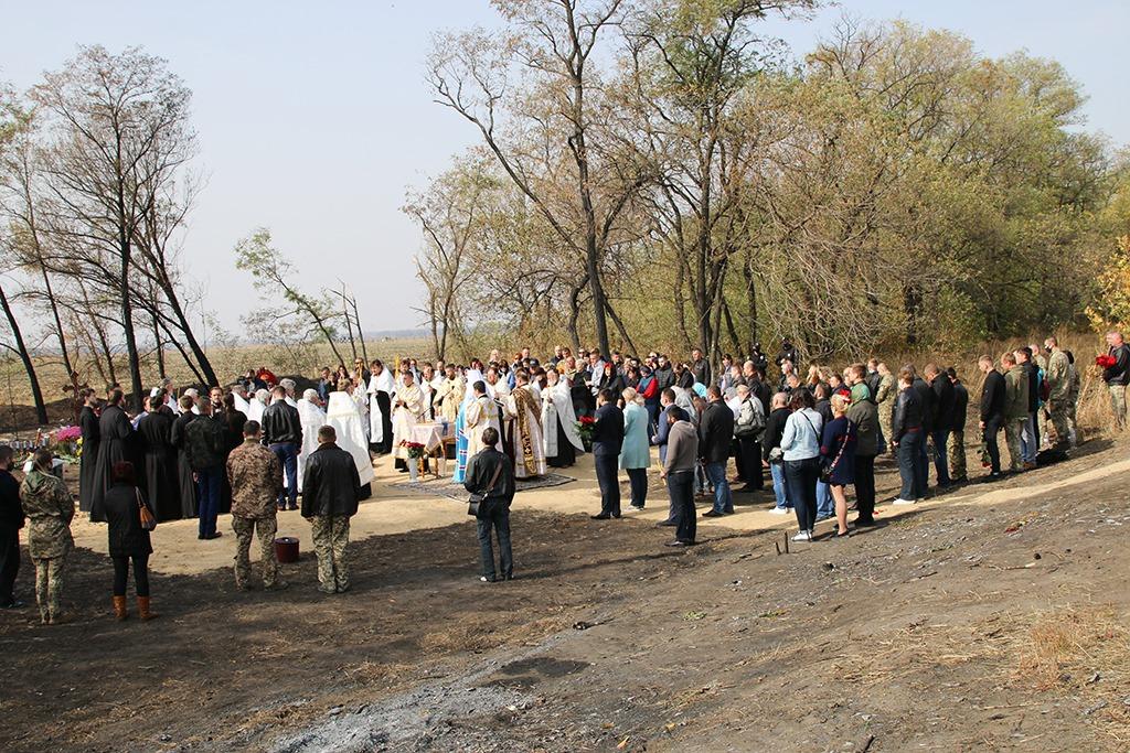 Авіакатастрофа Ан-26: під Чугуєвом попрощалися із загиблими (ФОТО)