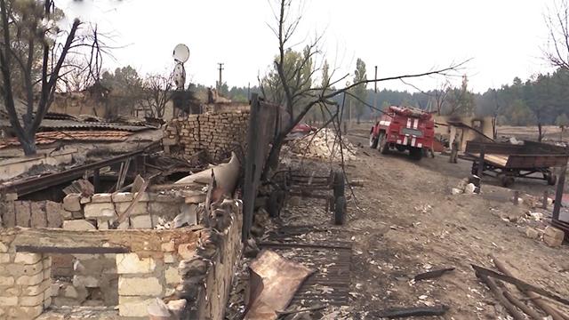 Лишився лише попіл. Катастрофічні наслідки масштабної пожежі в Луганській області