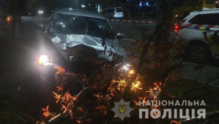 ДТП у Броварах: п'яний поліцейський збив матір та дочку (ФОТО та ВІДЕО)