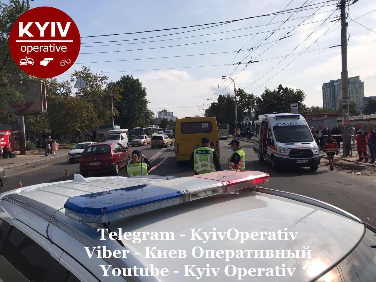 ДТП у Києві – подробиці ДТП 4 жовтня в Києві