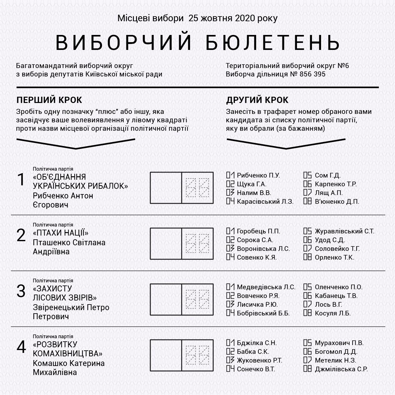 Місцеві вибори в Києві: як проголосувати
