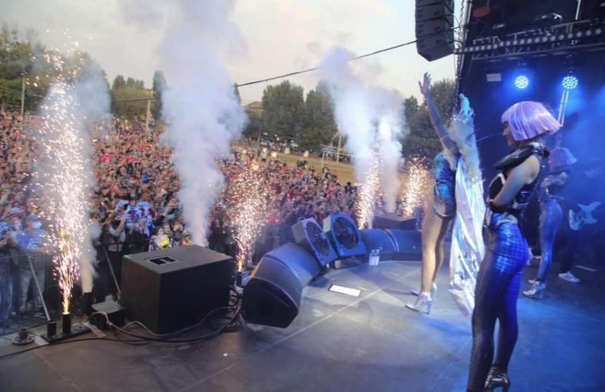 Концерт Олі Полякової в Харкові – реакція співачки на кримінальну справу