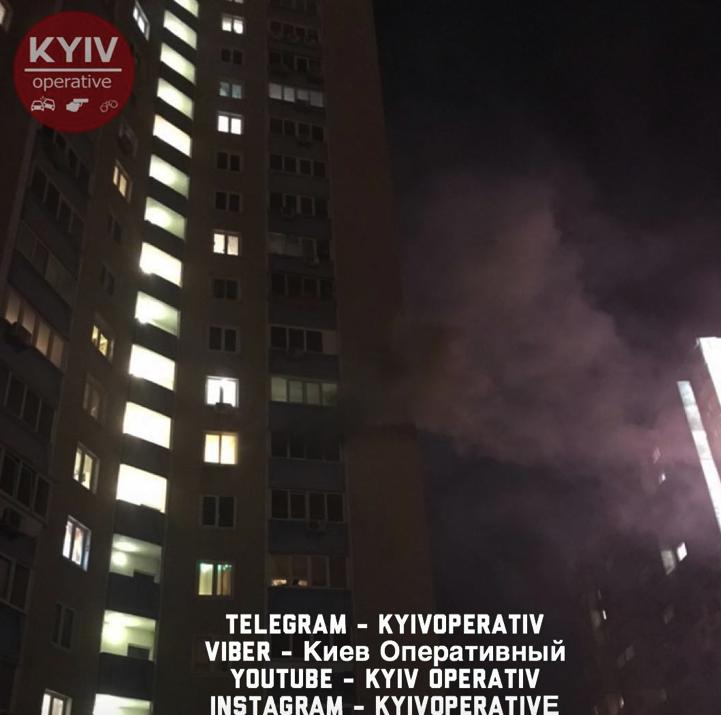 У Києві колишній військовий підпалив свого сина