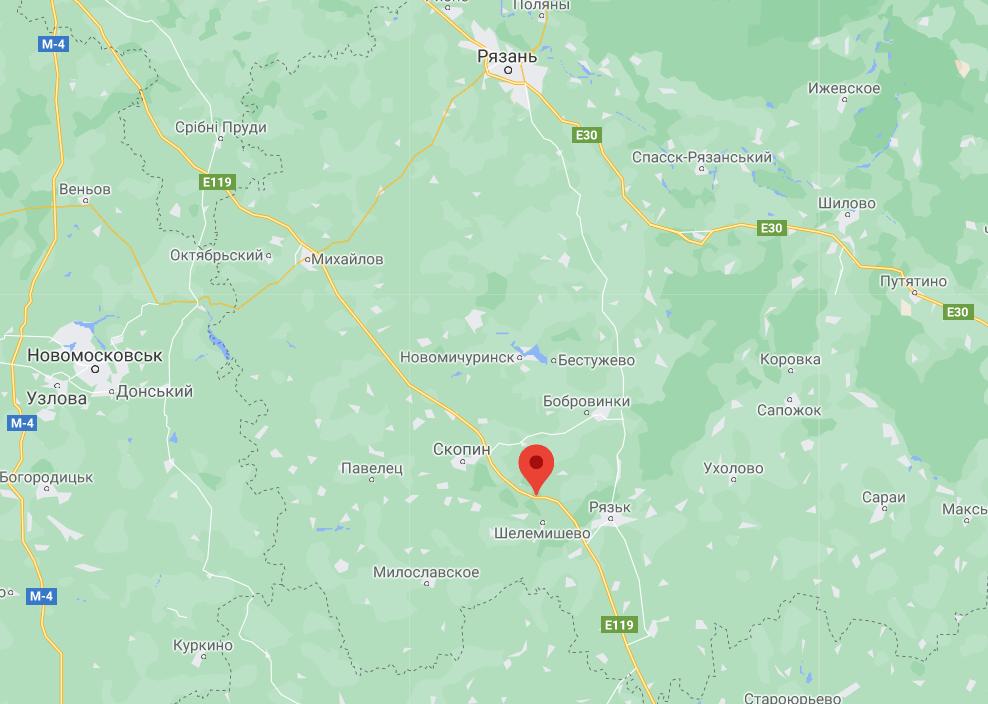 Вибух у Рязані: останні новини з пожежі на військових складах