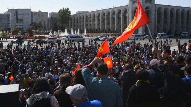 киргизстан протести