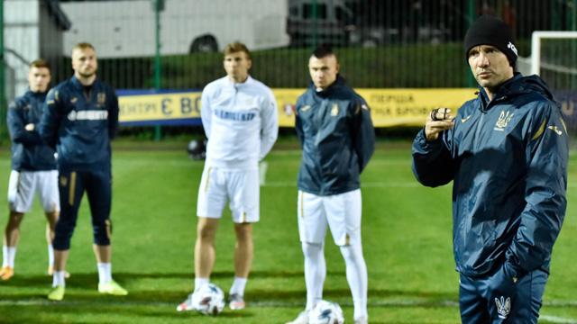 Шевченко сборная Украины